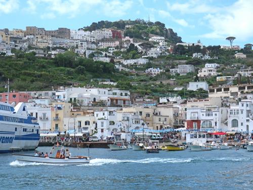 Map of the Island of Capri in Italy Capri Italy Map on