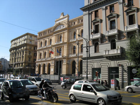 Architecture in Naples Italy