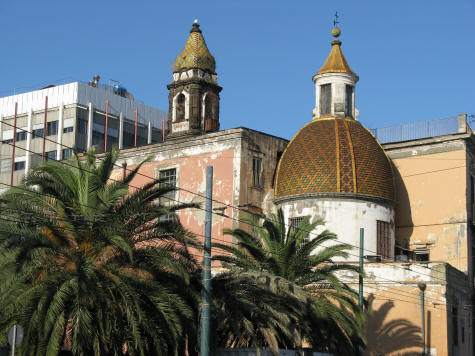 Church in Naples Italy