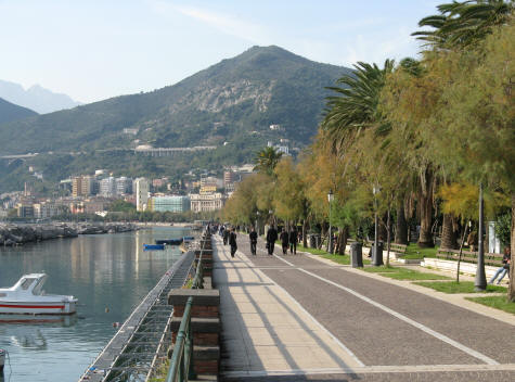 Naples to Salerno Italy